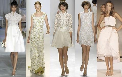 crisp white lace Crochet Fashion Trend 2011