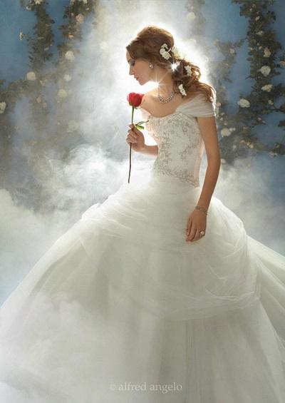 Disney Princesses Wedding Dresses