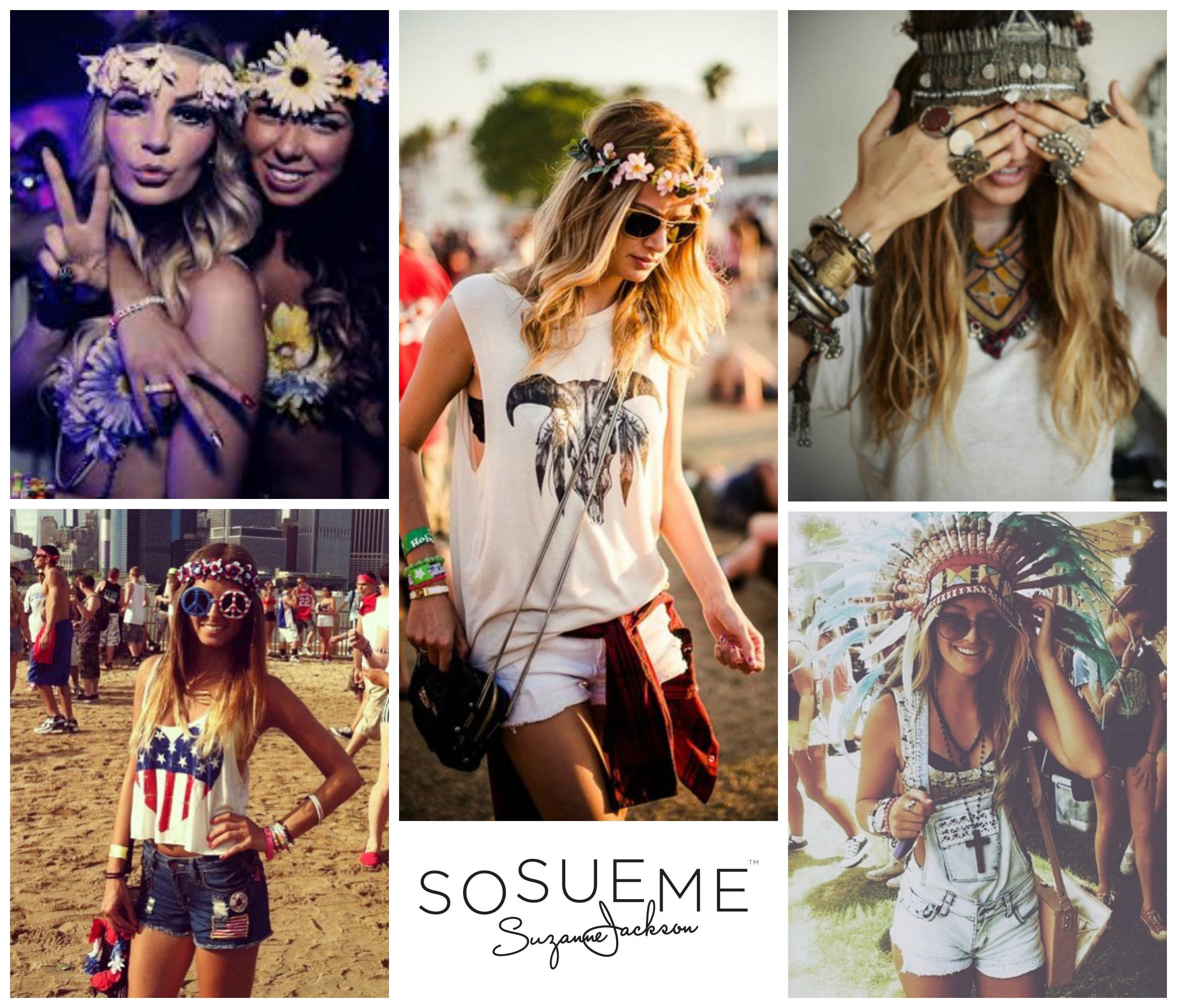 Festival Fashion Outfit Ideas So Sue Me