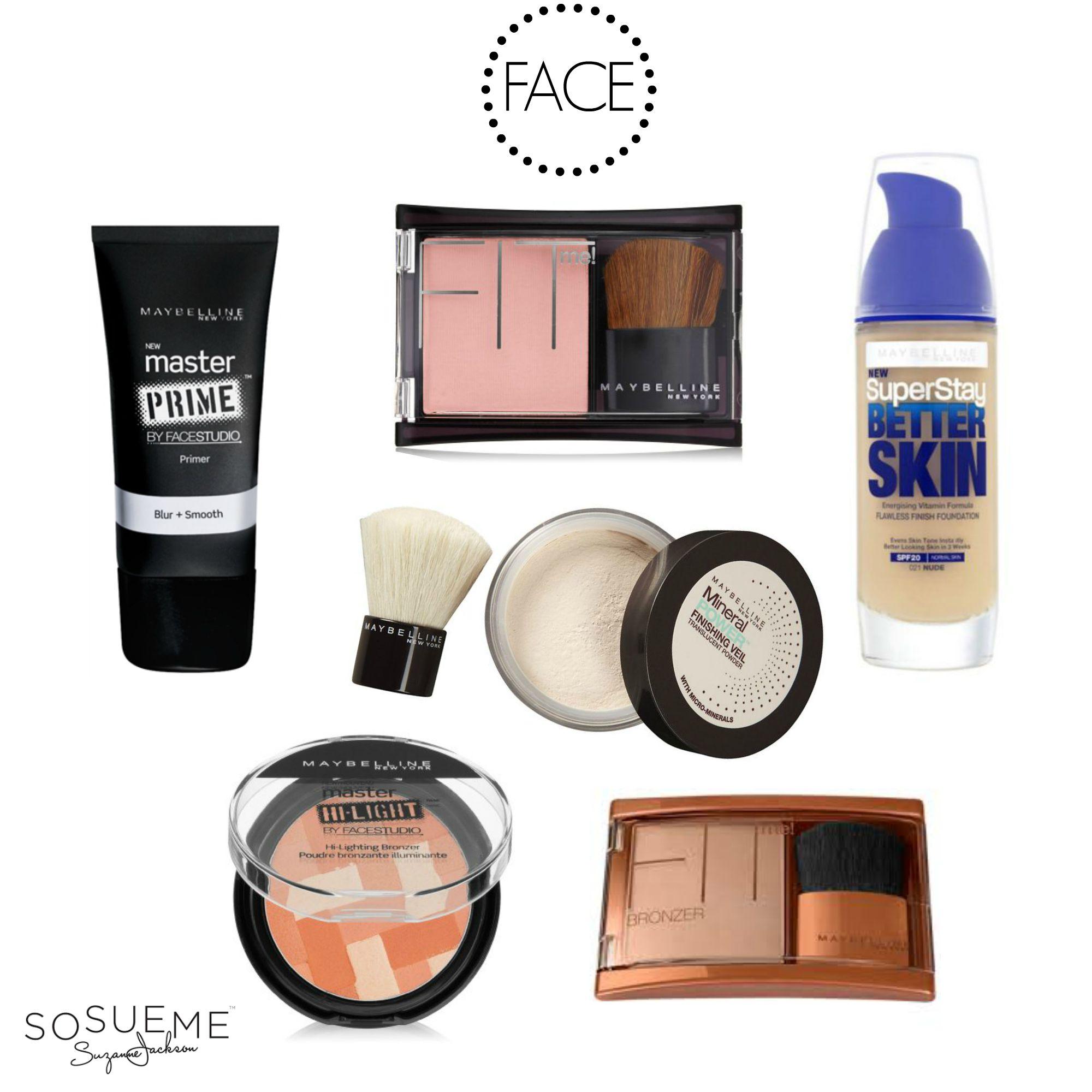 Face Makeup List - Makeup Vidalondon