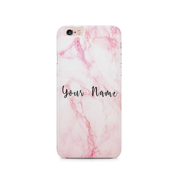 detailed look 11f98 802df Mongrammed Marble Effect Phone Covers | So Sue Me