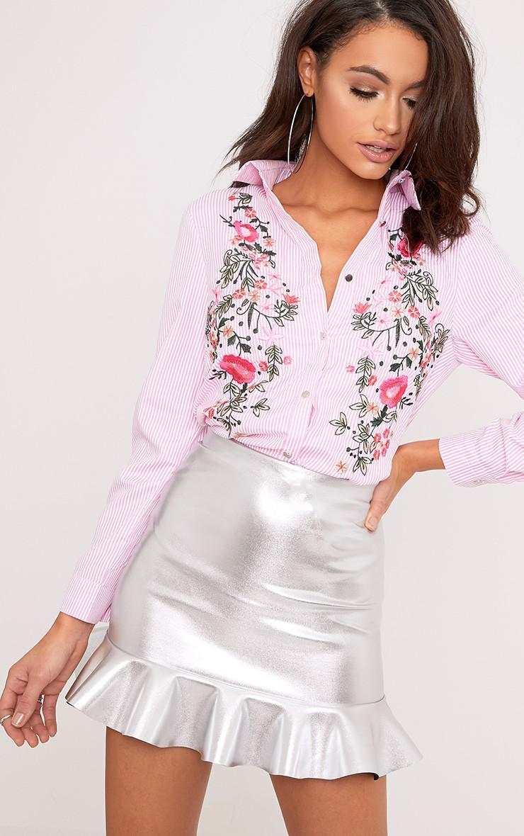 Printed shirt floral