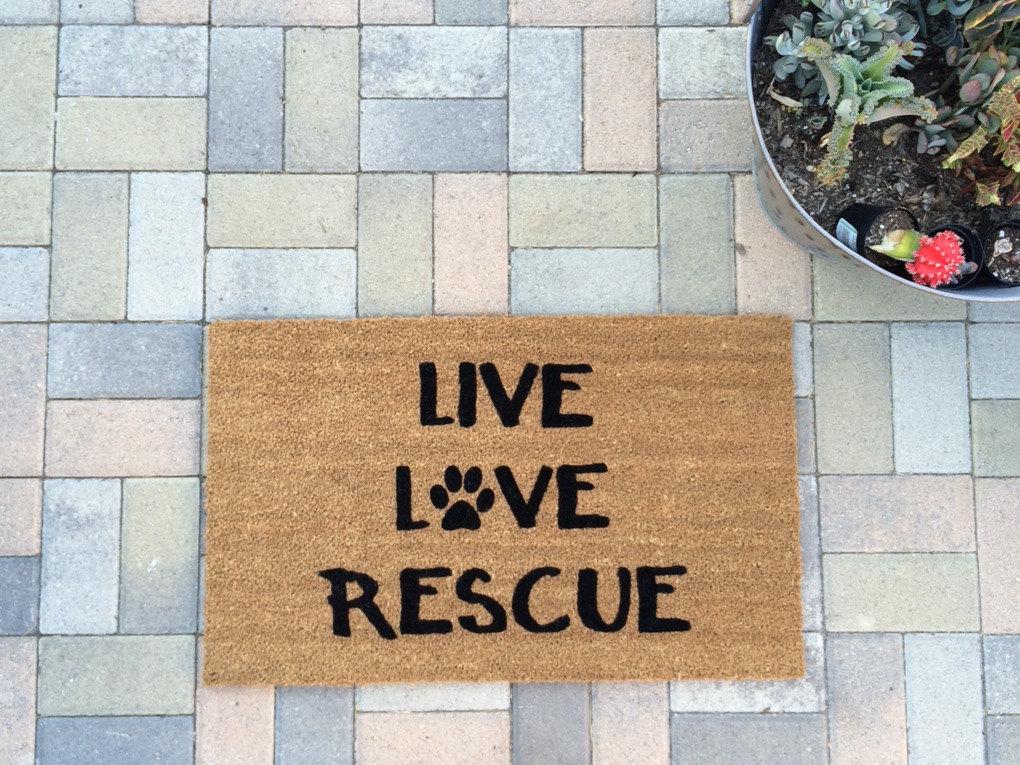 rescue doormat
