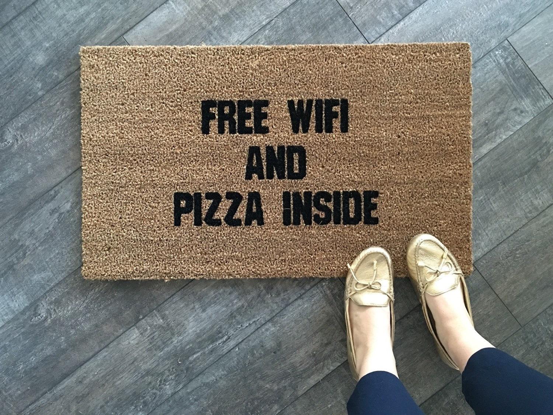 wifi doormat