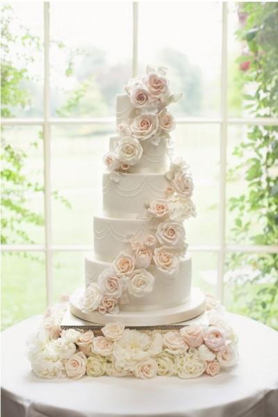 Wedding Cake Inspo. Pic: Pinterest