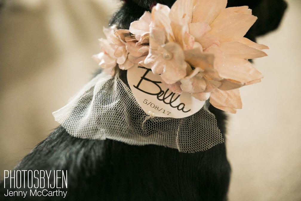 Bella's floral wedding look!
